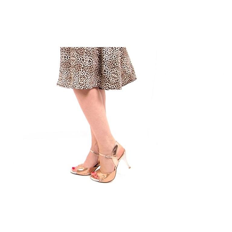 Lisadore Dance Couture - Leopardo Turquesa
