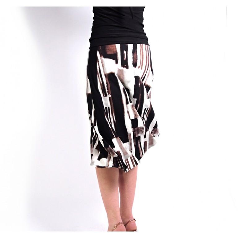 Lisadore Dance Couture - Rayas Marron Negro y Gris