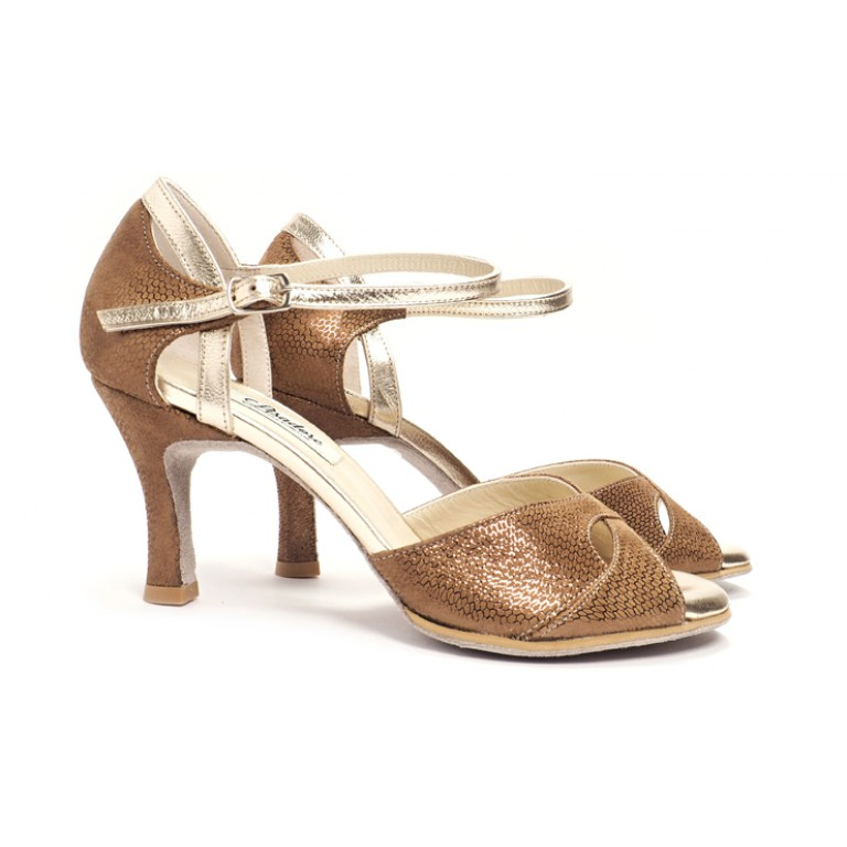 Lisadore - Gamuza Bronce Reptil Butterfly - Abasso