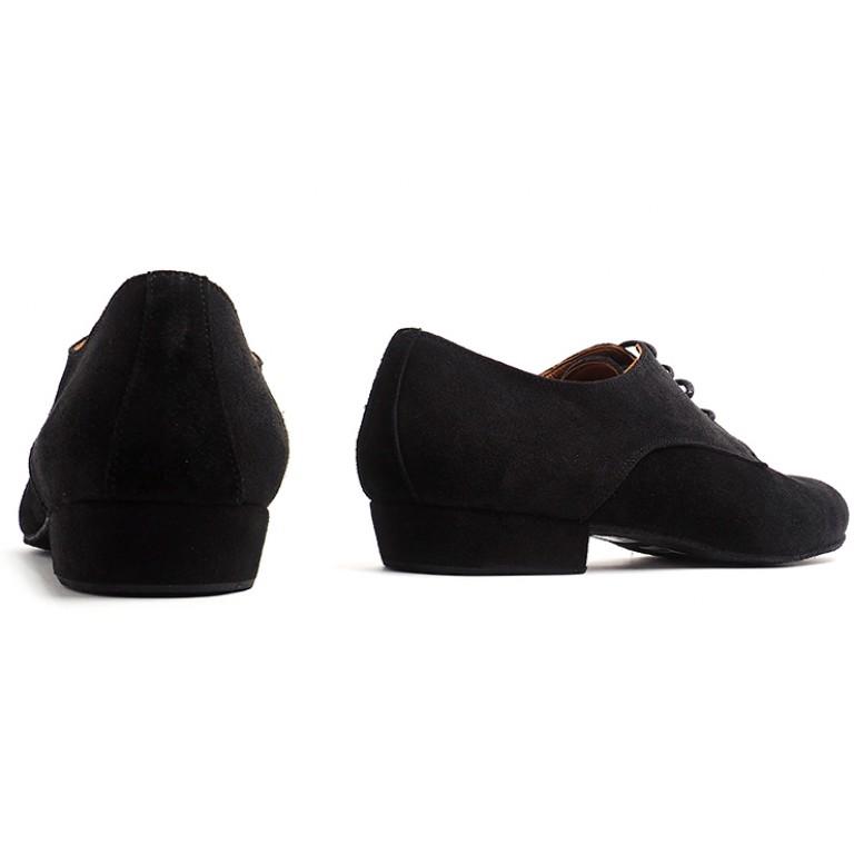 Lisadore Men Shoes - Gamuza Negra Cromo