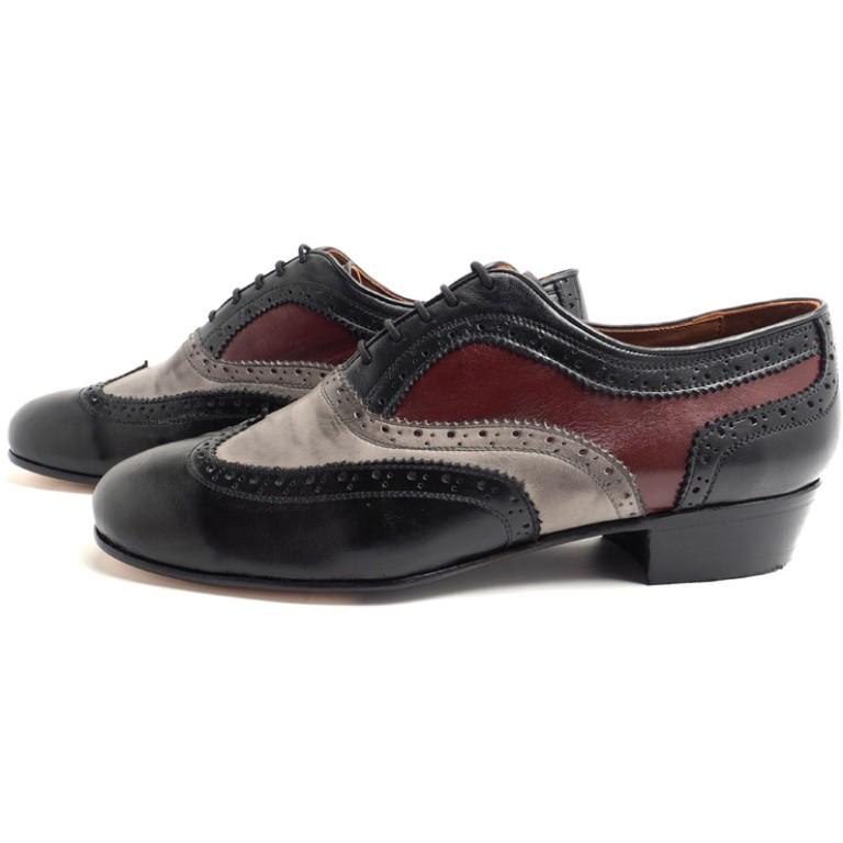 Lisadore Men Shoes - Tres Colores Melanzane