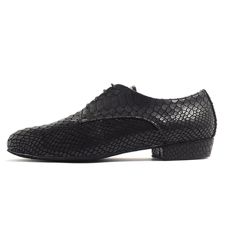 Lisadore Men Shoes - Reptil Negra Cromo