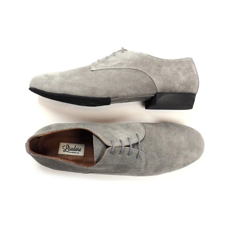 Lisadore Men Shoes - Gamuza Gris Cromo