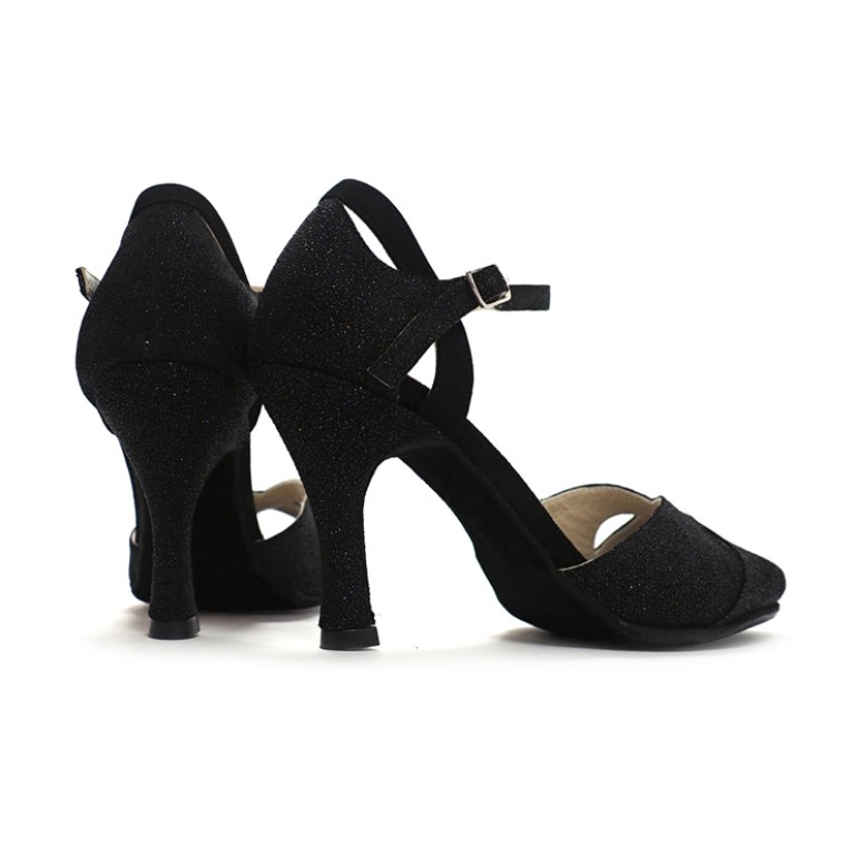 Lisadore - Cuero Negro Brillante