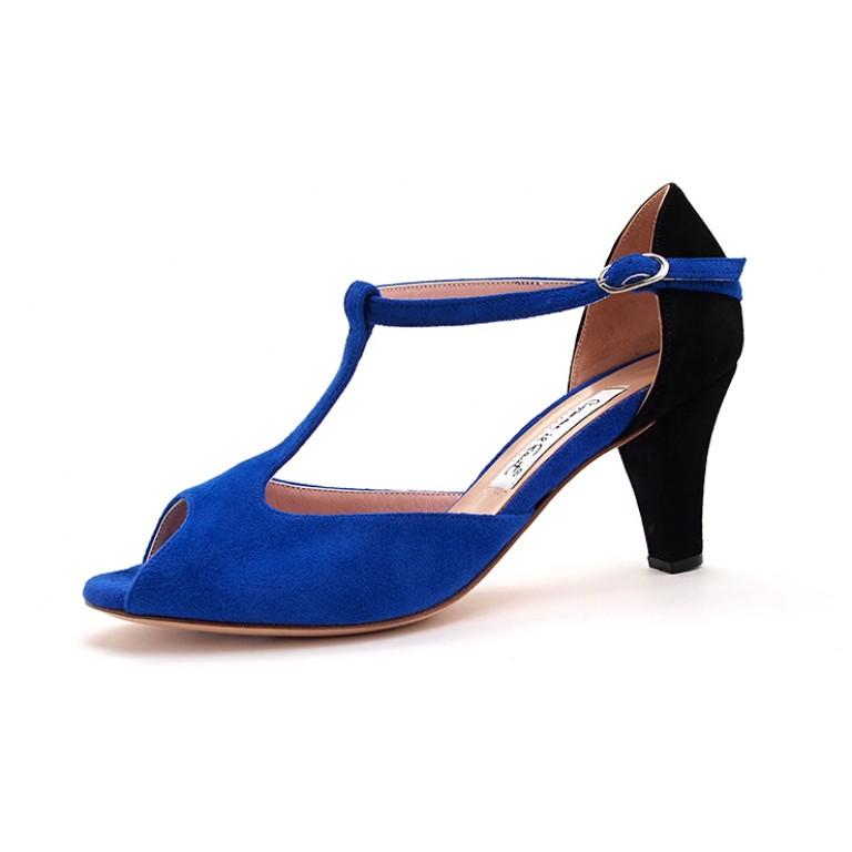 Comme il Faut - Azul y Negro (low)